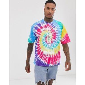 NikeTie Dye We Take You Higher T-Shirt Mens